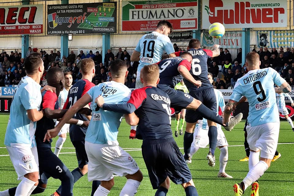 Virtus Entella - Gozzano: le foto